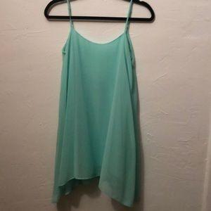 BCBG Dresses - BCBG Teal shift dress